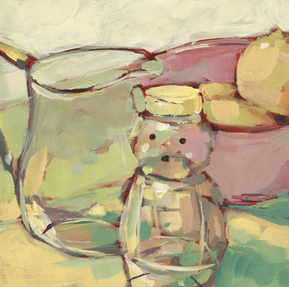 """""""1039: Oh Honey Bear"""" original fine art by Brian Miller"""