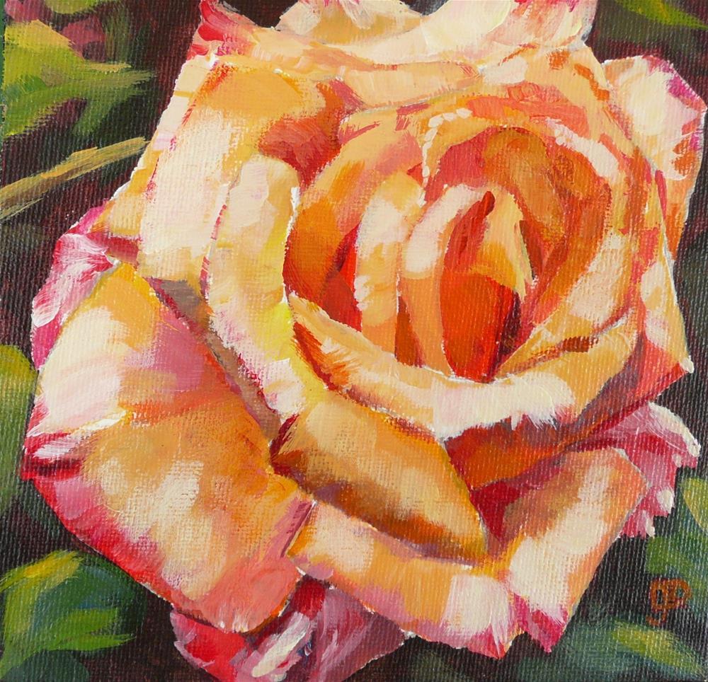 """Rose Sensation"" original fine art by Leanne Owen"