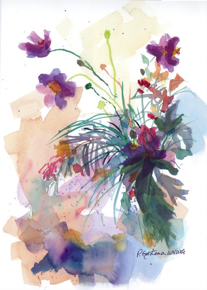 """Wild Weeds"" original fine art by Pamela Gatens"