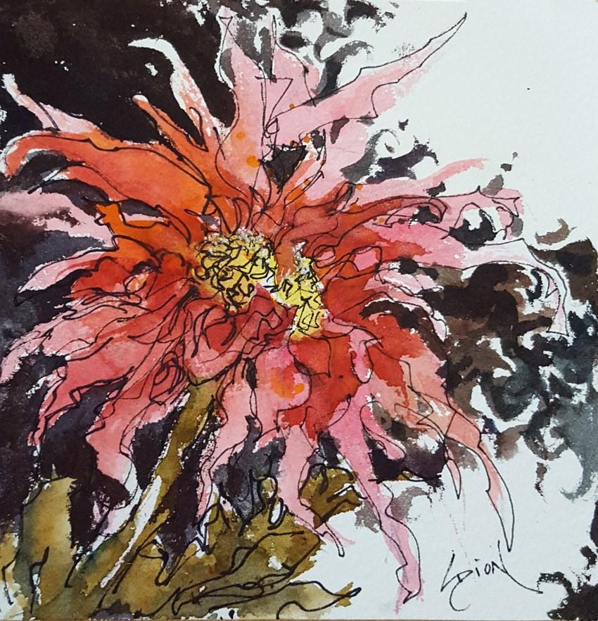 """""""Changeling"""" original fine art by Sue Dion"""