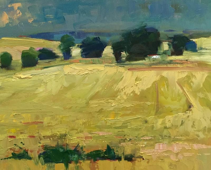 """Dark Eastern Oregon Sky"" original fine art by Patti McNutt"