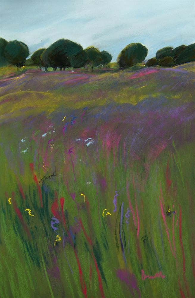 """Springtime in Portugal"" original fine art by Sarah Peroutka"