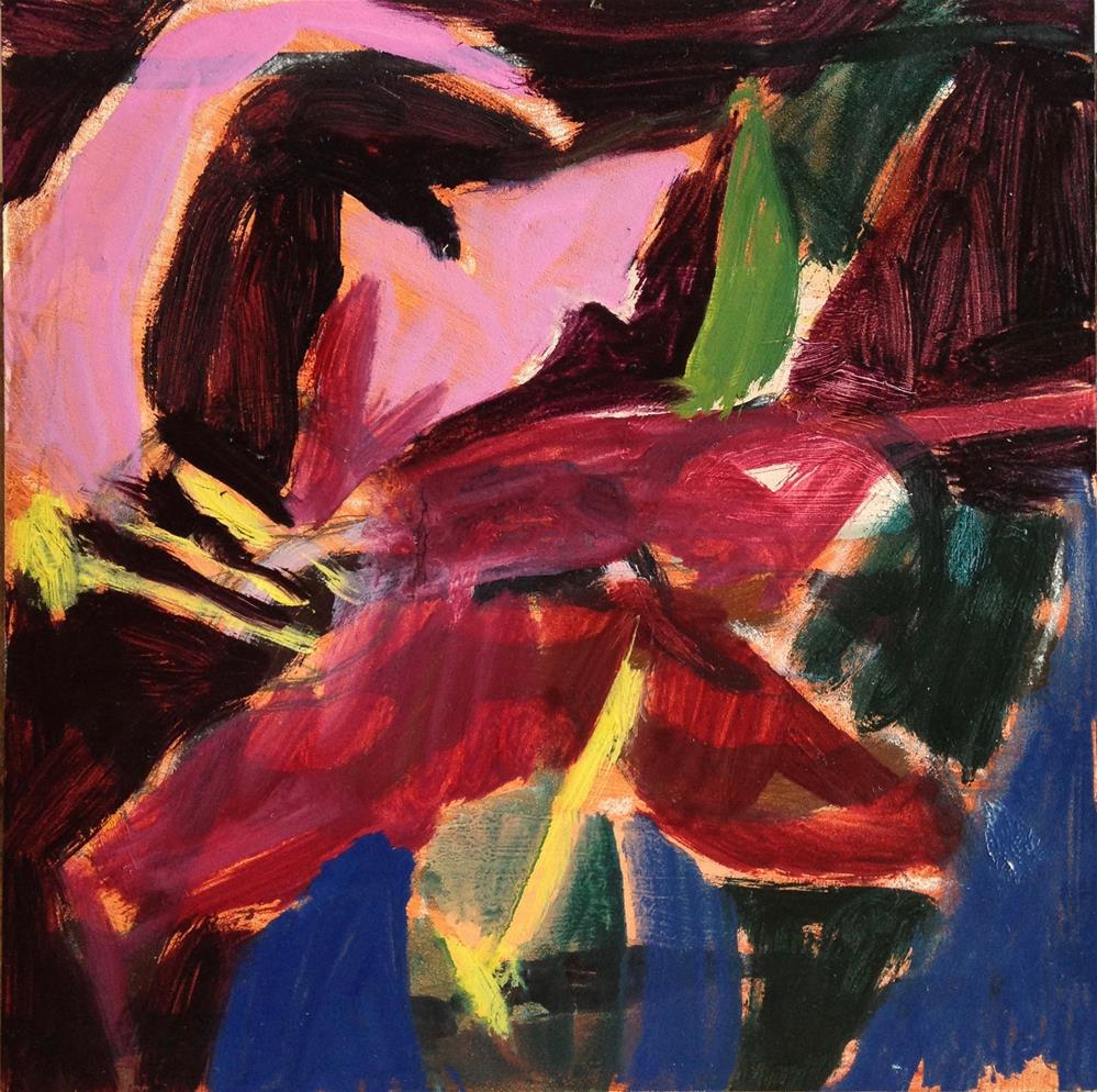 """Lily Interrupted"" original fine art by Pamela Hoffmeister"
