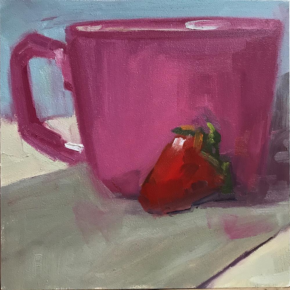 """42 Leftovers"" original fine art by Carol Johansen"