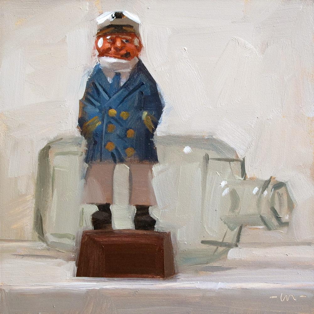 """Shipless"" original fine art by Carol Marine"