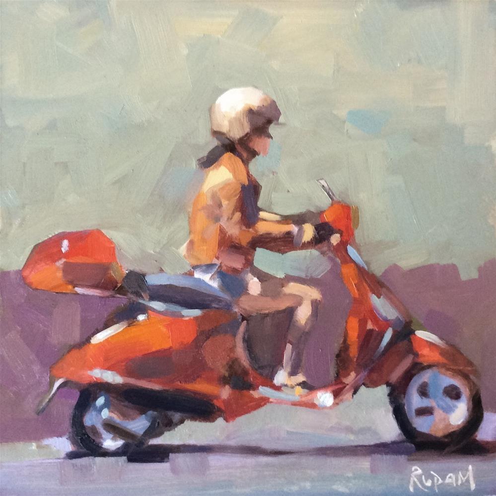 """Ciao"" original fine art by Rupam Barthakur"