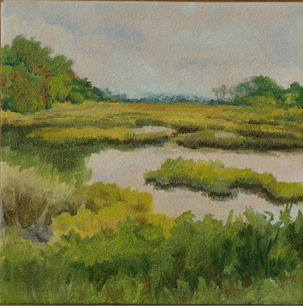 """Low Country Marsh"" original fine art by Jan Jackson"