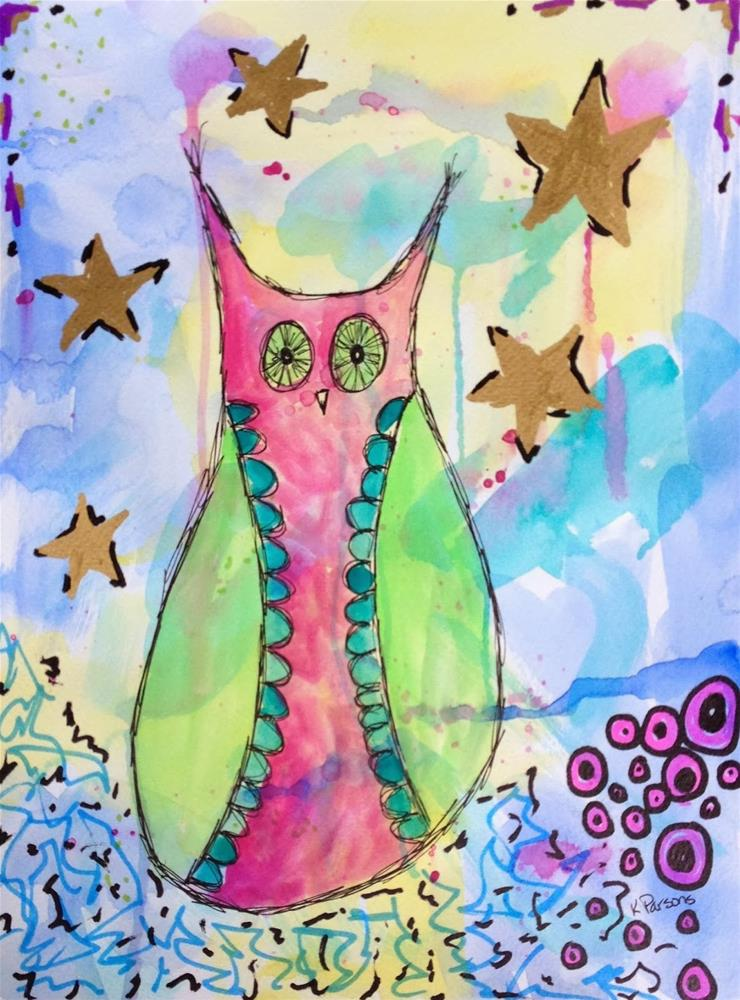 """Star of the Show"" original fine art by Kali Parsons"