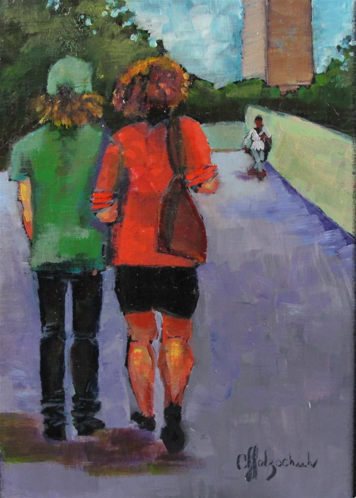 """Seeking the Destination"" original fine art by Christine Holzschuh"