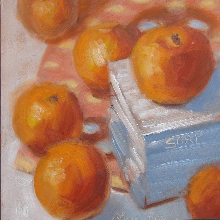 """Soap Box 448"" original fine art by Laura  Buxo"