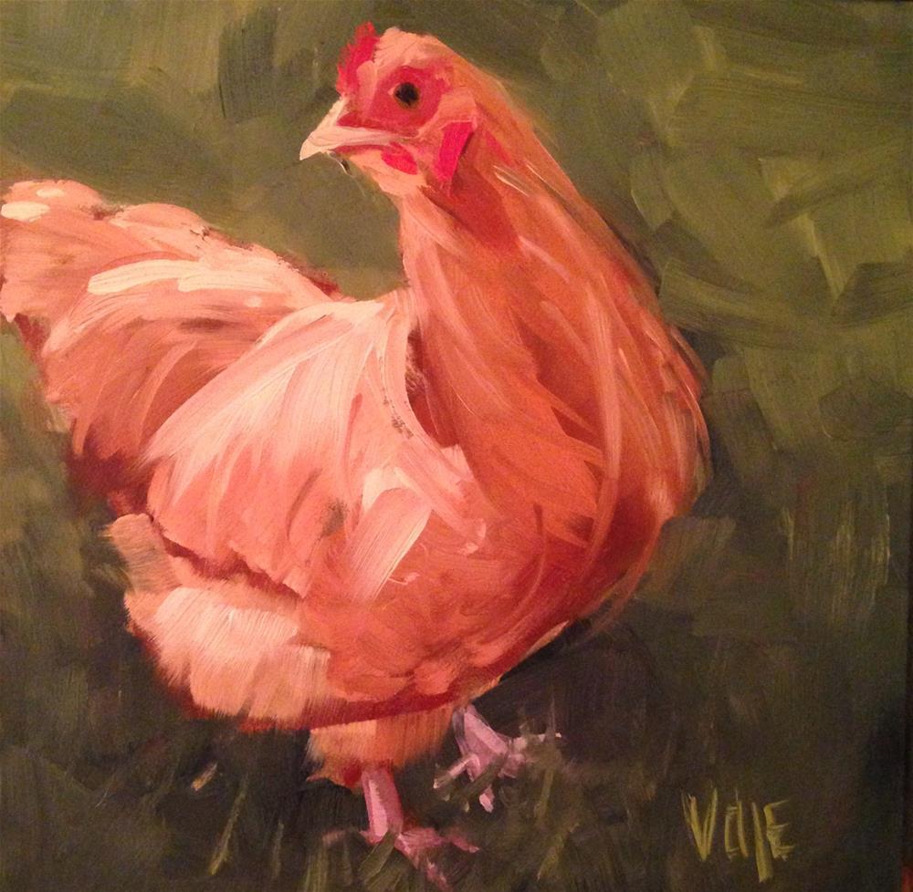 """#164 Don't Look Back"" original fine art by Patty Voje"