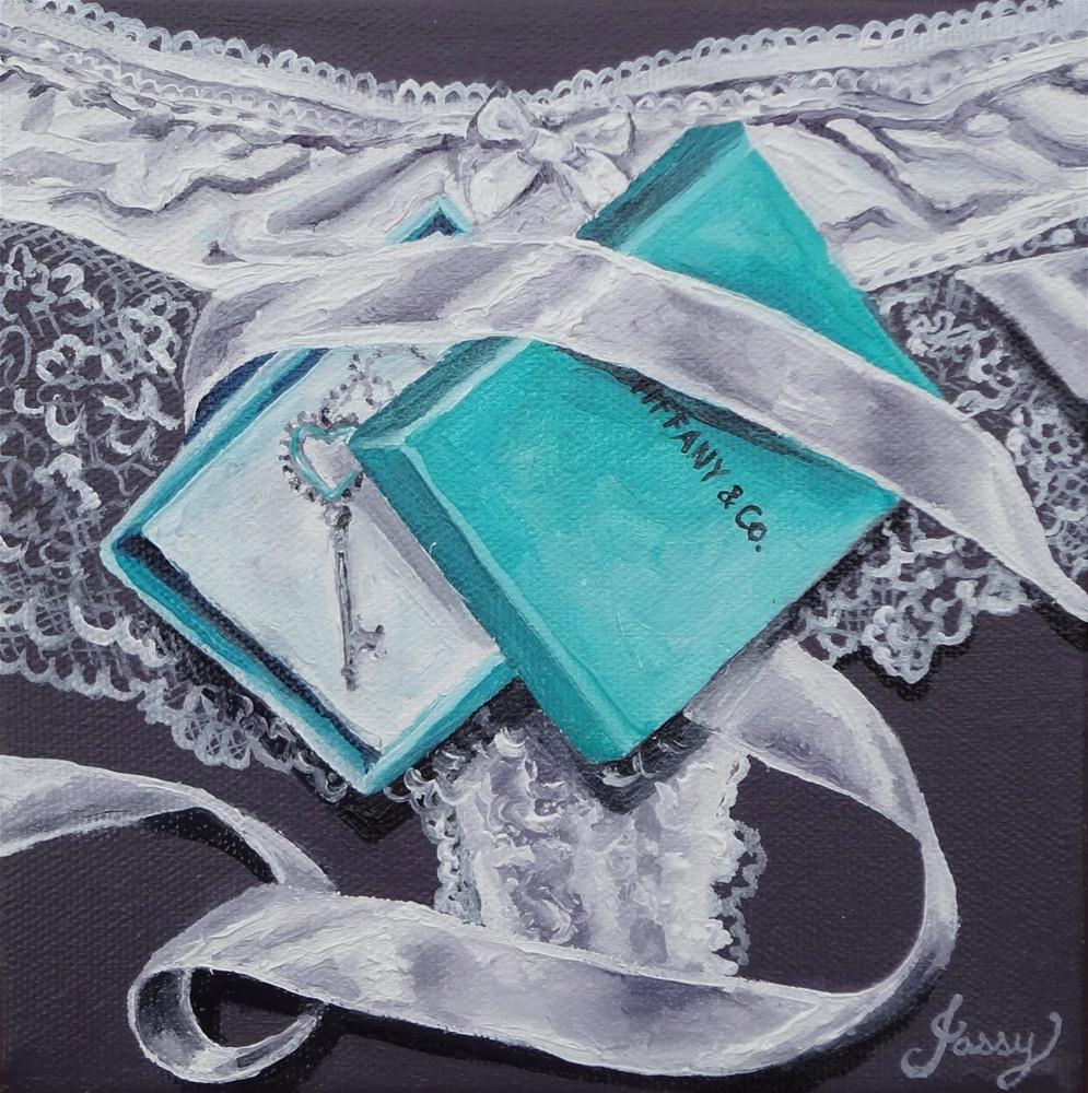 """Tiffany Power"" original fine art by Jacinthe Rivard"