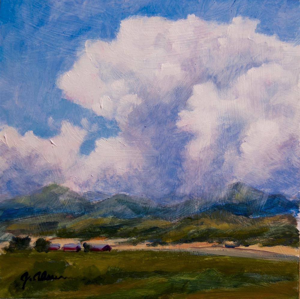 """""""Westcliffe Ranch"""" original fine art by Gary Alsum"""