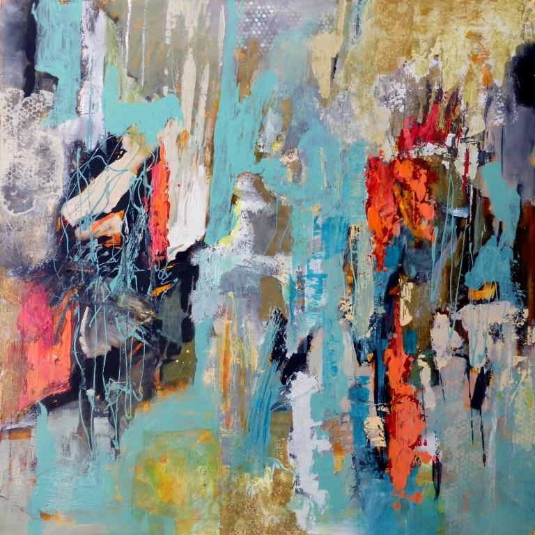 """""""Acclamation 15012 (On hold for a show during December at the Upstairs Gallery)"""" original fine art by Nancy Standlee"""