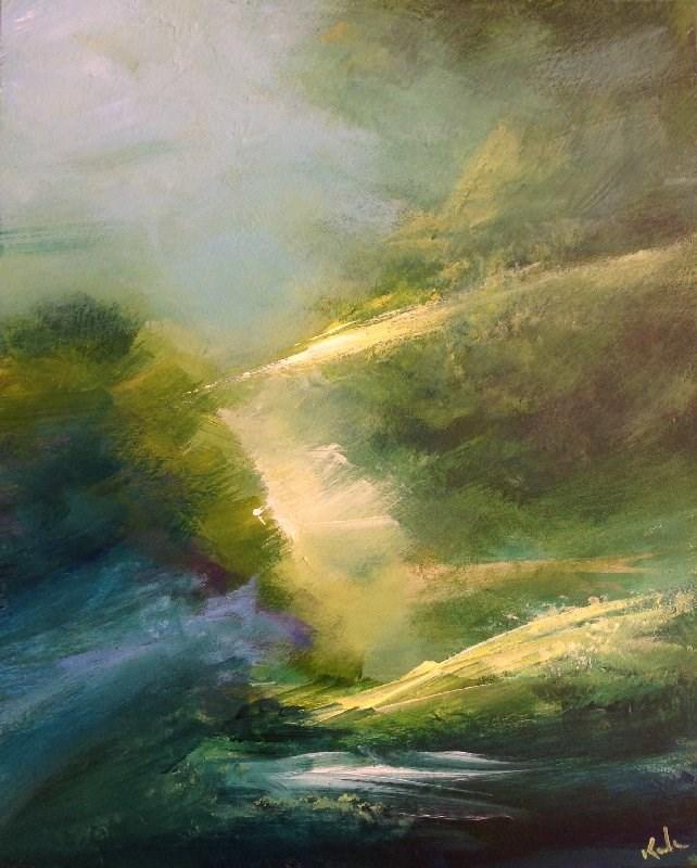 """In Natural Verse"" original fine art by David Kuhn"