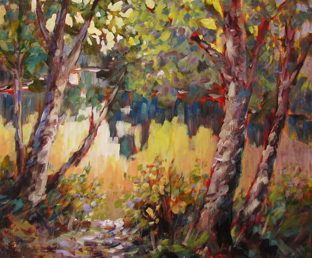 """Land & Water Dance"" original fine art by Melissa Gannon"