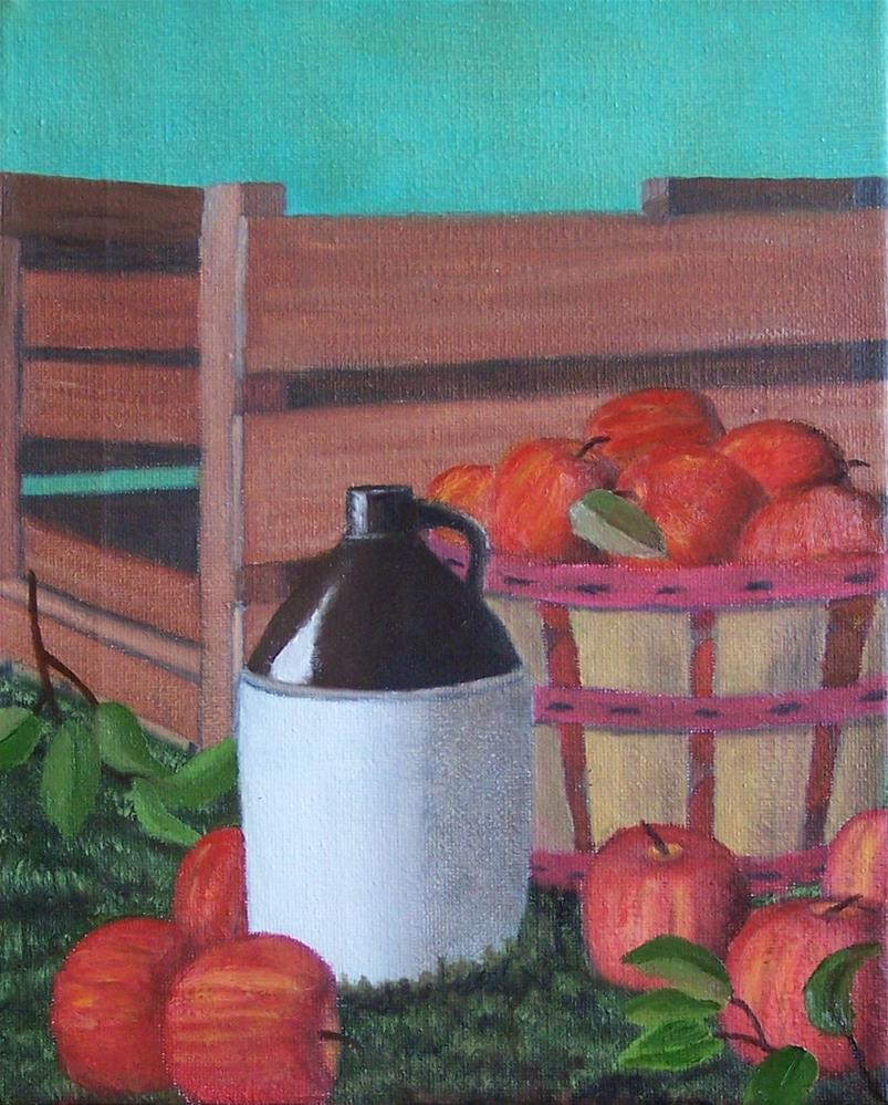 """The Fruits of Labor"" original fine art by John Marcum"