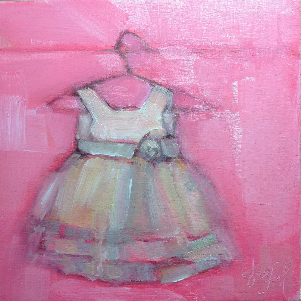 """Hannah's Dress"" original fine art by Carol Josefiak"