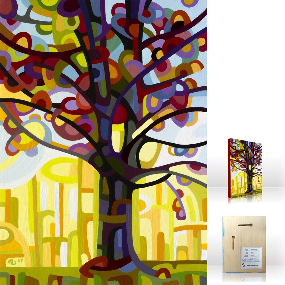 """Landscape Study #117"" original fine art by Mandy Budan"