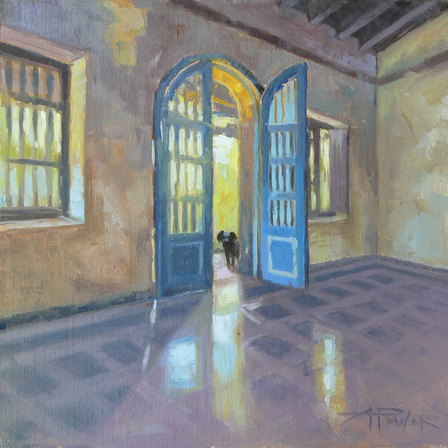 """Cuba - Ghosts of the Past"" original fine art by Anette Power"