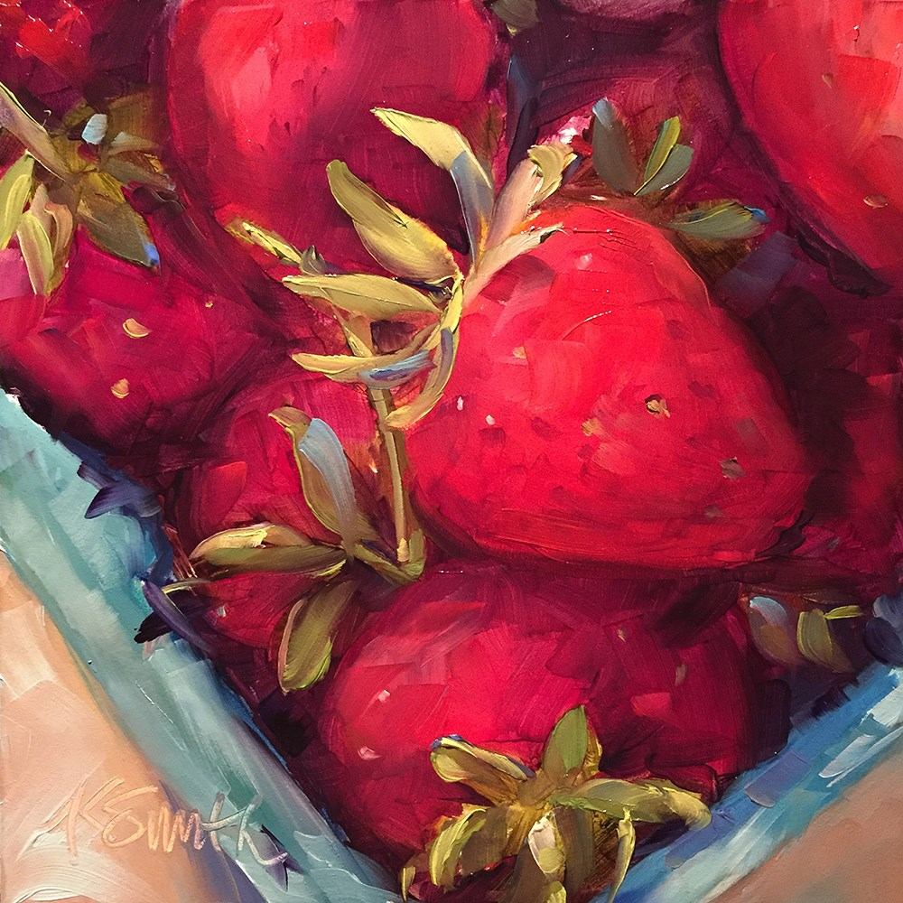 """summer"" original fine art by Kim Smith"