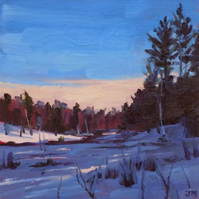 """""""Cranberry Bog, Afternoon"""" original fine art by Jessica Miller"""