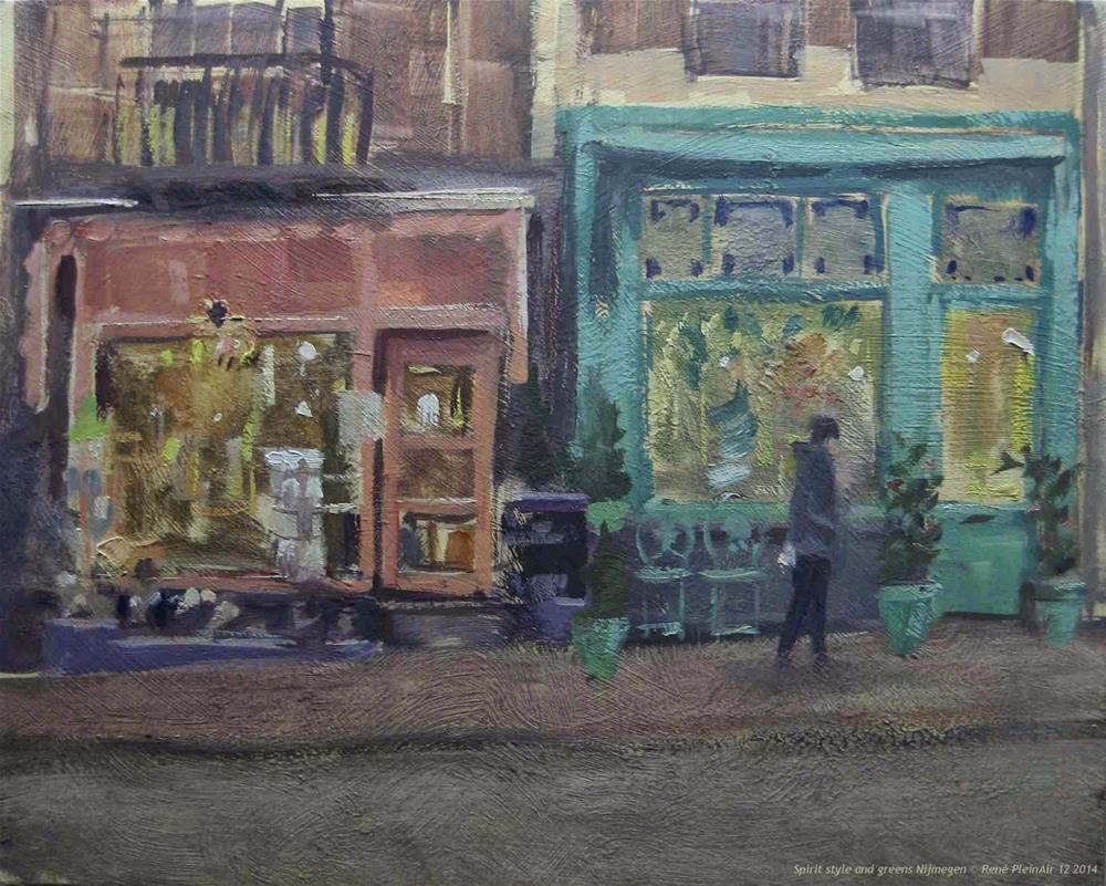 """Spirit Style and Greens. Nijmegen, The Netherlands"" original fine art by René PleinAir"