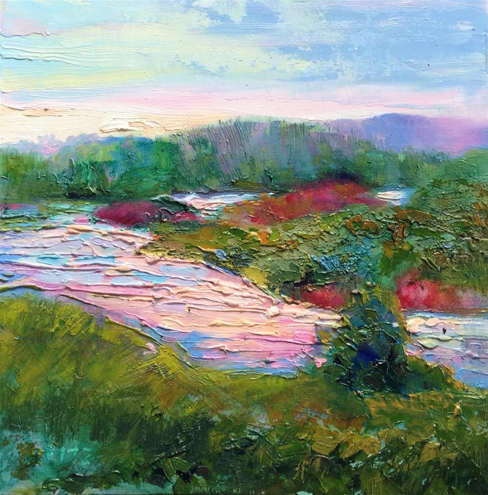 """Interpretations 3"" original fine art by Charlotte Fitzgerald"