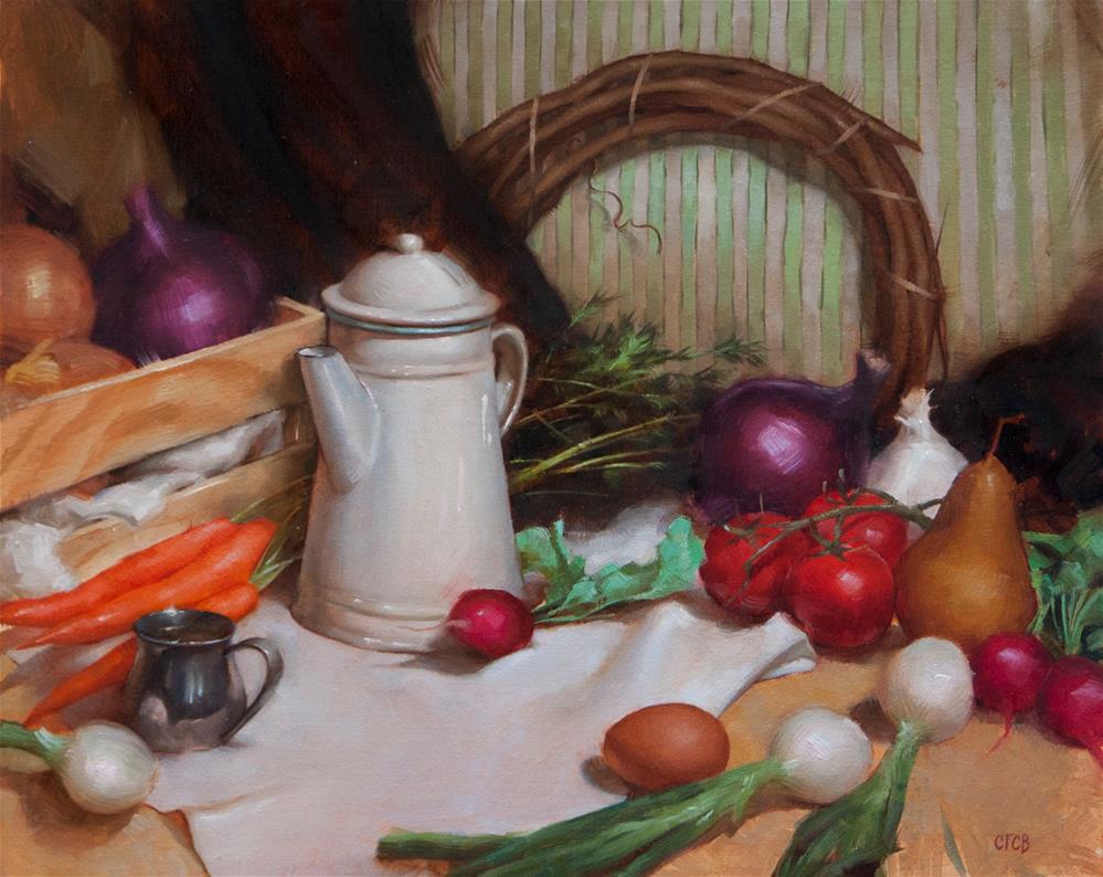 """Summer Harvest"" original fine art by Catherine Bobkoski"