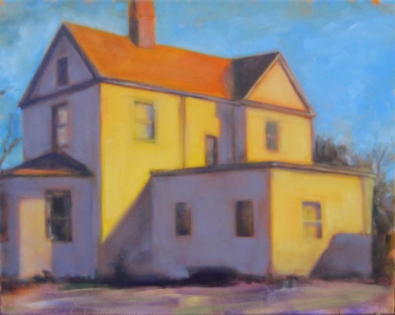 """Windows into the past"" original fine art by Sandy Haynes"