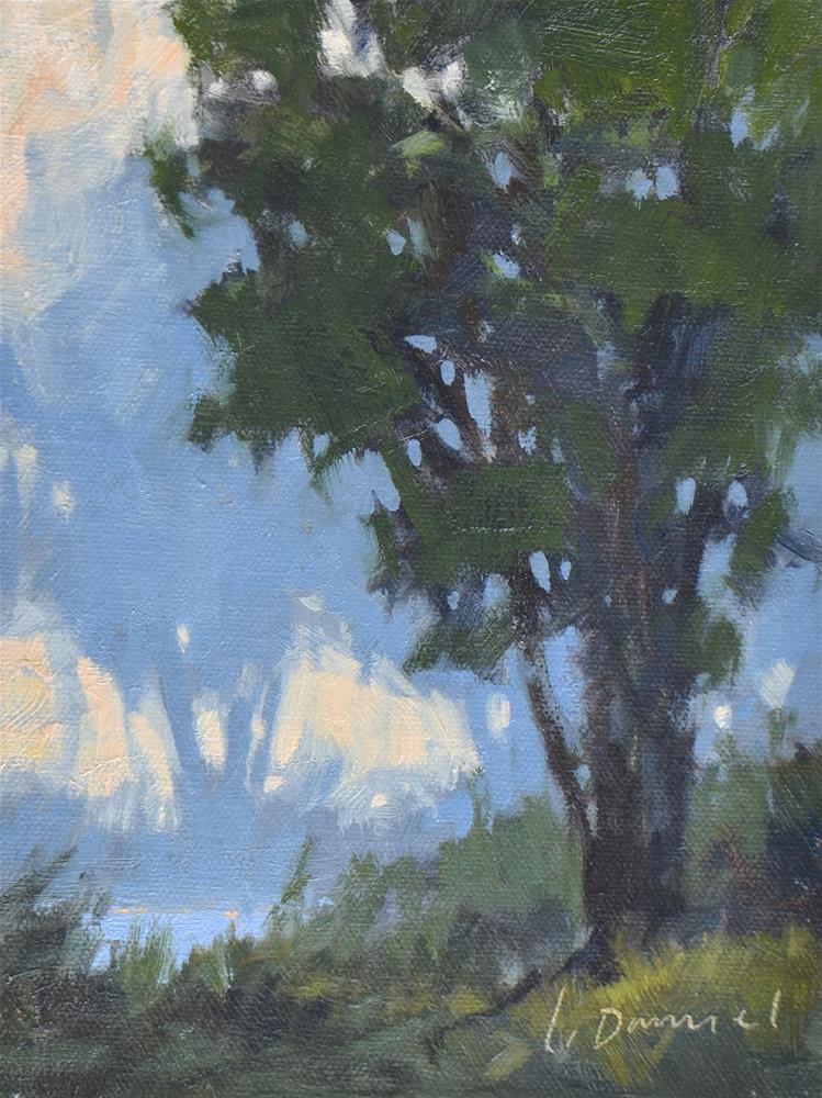 """FIX IT FRIDAY 2 - Bowing to the Mist"" original fine art by Laurel Daniel"
