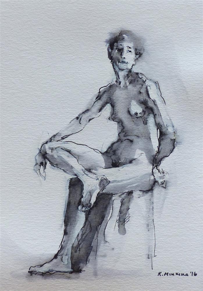 """sketchbook#22"" original fine art by Katya Minkina"