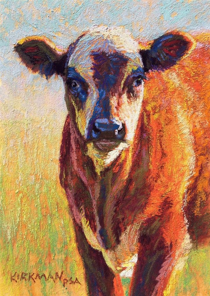 """Toffee"" original fine art by Rita Kirkman"