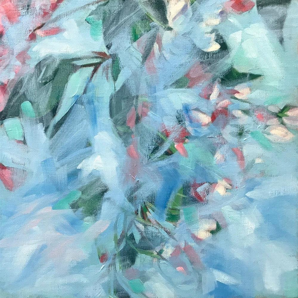 """""""Mist in the Garden"""" original fine art by Mary Anne Cary"""