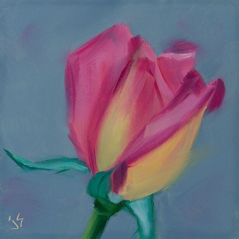 """""""Cotton Candy"""" original fine art by Johnna Schelling"""