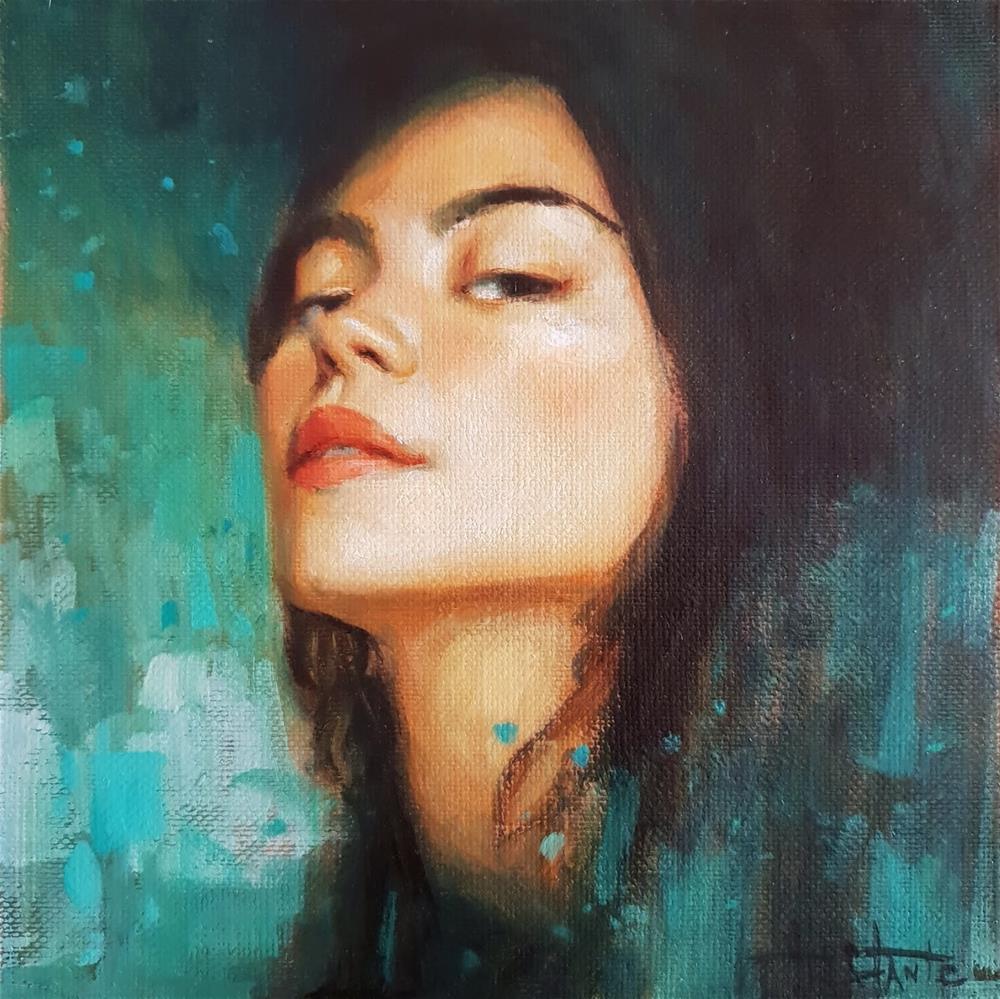 """Desire"" original fine art by Víctor Tristante"