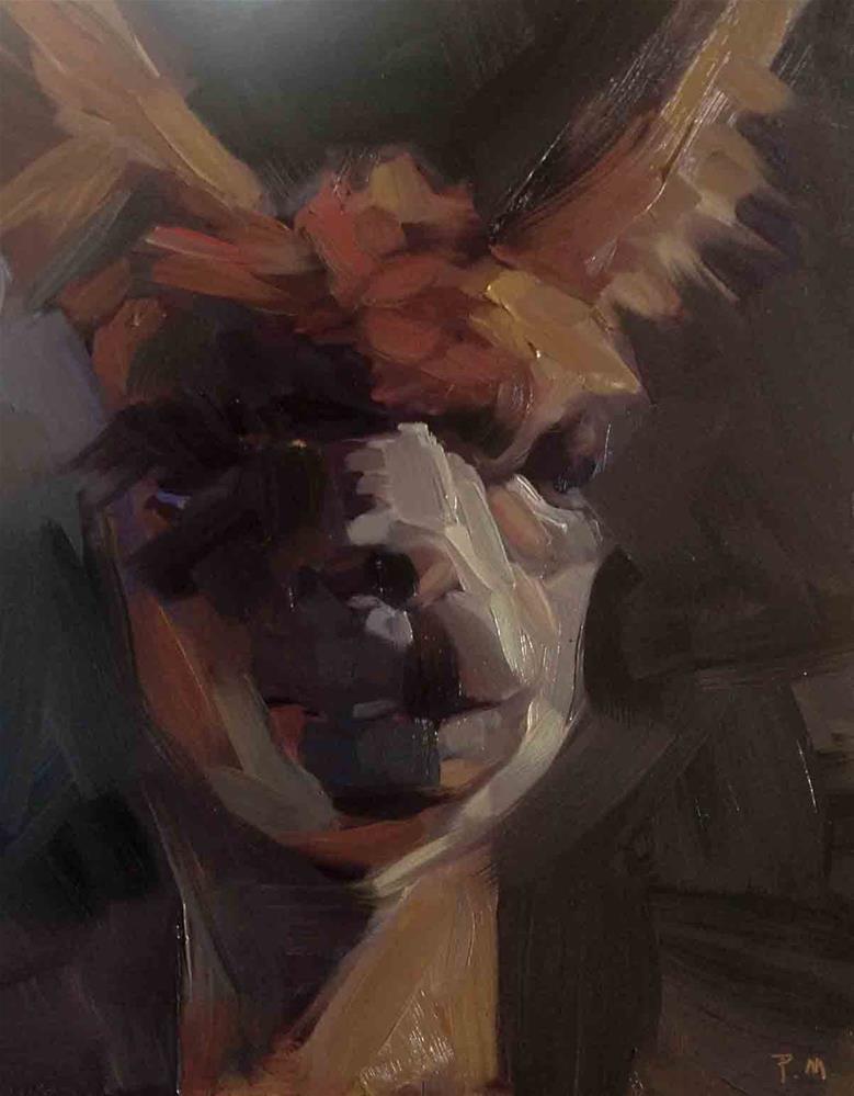 """Silhouette"" original fine art by Patti McNutt"