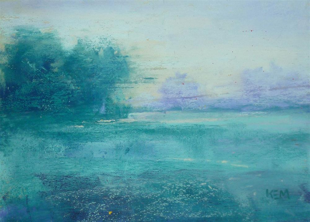 """""""Landscape Variation 4"""" original fine art by Karen Margulis"""