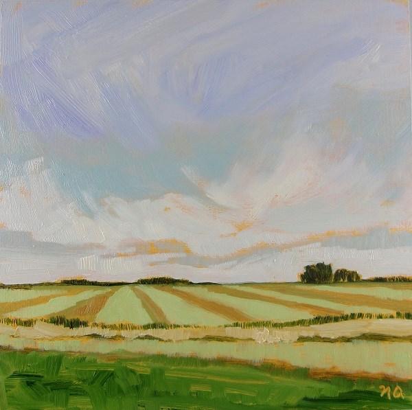 """""""September Harvest"""" original fine art by Nicki Ault"""