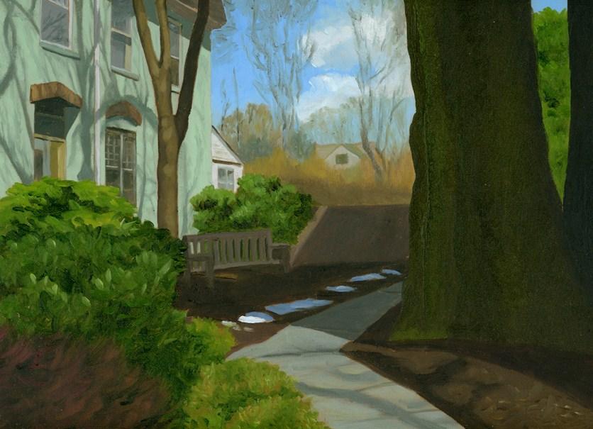"""OASIS"" original fine art by Nancy Herman"