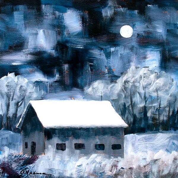 """""""Barn #21"""" original fine art by Anna Vreman"""