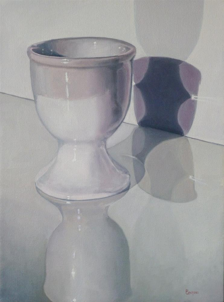 """Eggless"" original fine art by Peter Lentini"