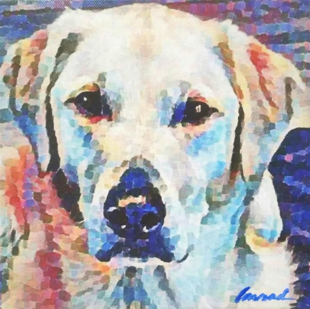 """Gus"" original fine art by Conrad Delury"