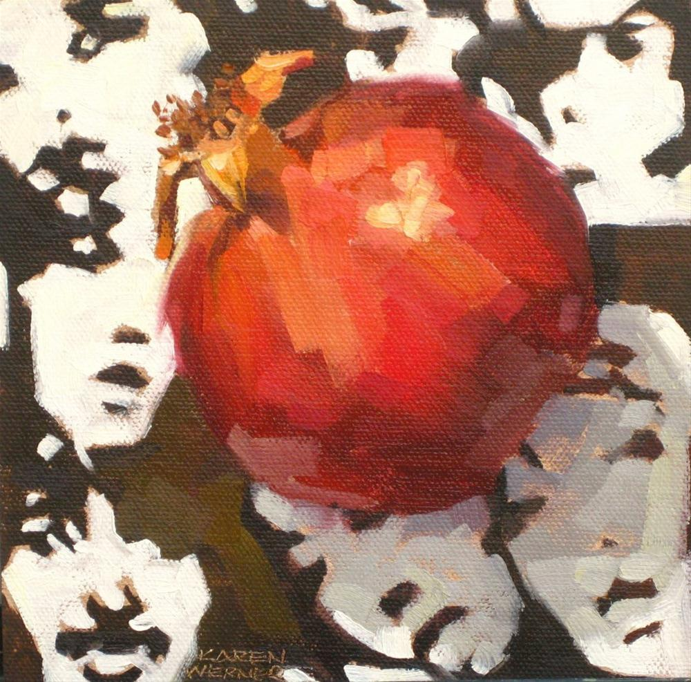 """Pom To The People"" original fine art by Karen Werner"