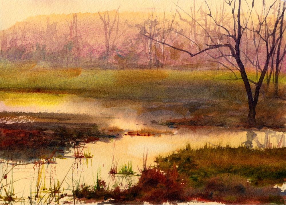 """Quiet Moments"" original fine art by Linda Henry"