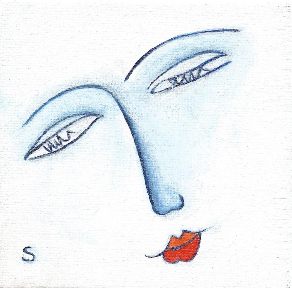 """4003 - Matisse Line Study"" original fine art by Sea Dean"