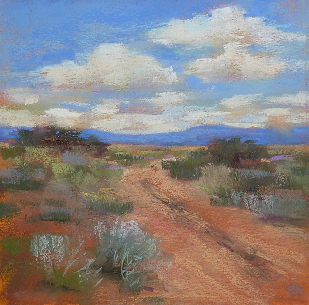 """Art Lessons from a Flute"" original fine art by Karen Margulis"