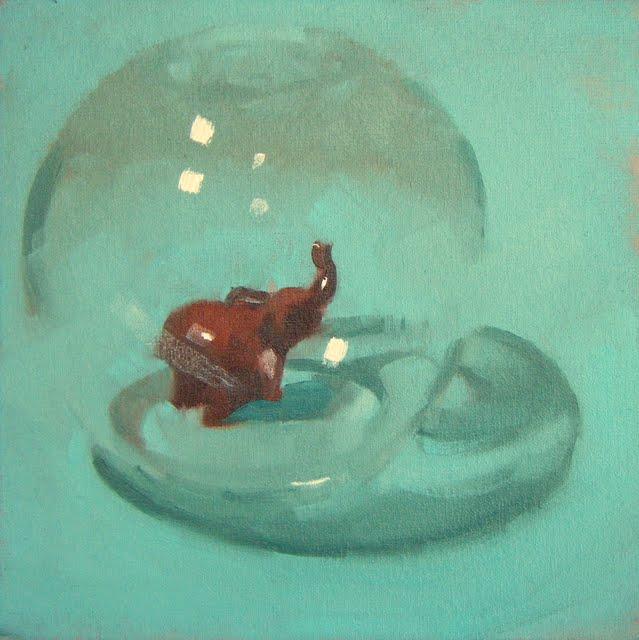 """PRECIOUS"" original fine art by Helen Cooper"