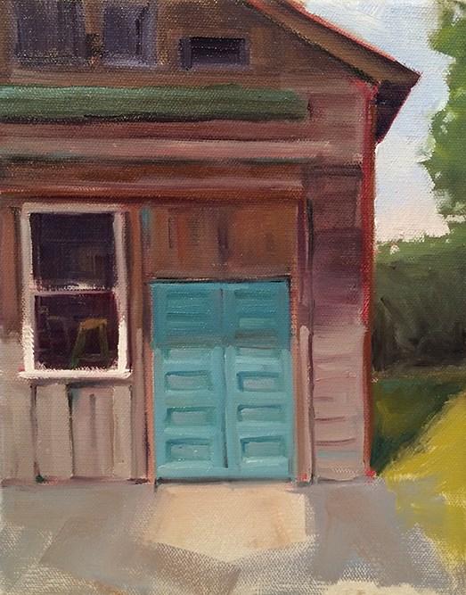 """Fresh Paint"" original fine art by Deborah Newman"