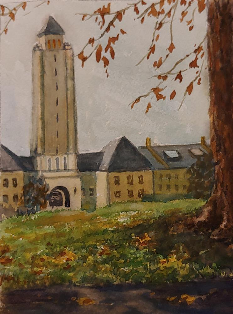 """Fort Sheridan"" original fine art by Edward Watson"